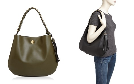 Tory Burch Brooke Leather Hobo - Bloomingdale's_2