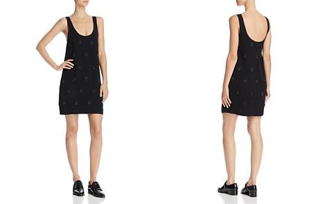 Elizabeth and James Greene Eyelash-Fringed Mini Dress - Bloomingdale's_2