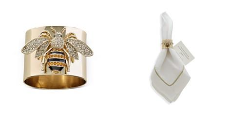 Joanna Buchanan Stripey Bee Napkin Rings, Set of 2 - Bloomingdale's Registry_2