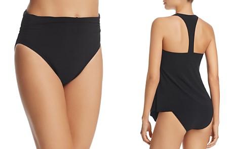 Magicsuit Solid Jersey Shirred Bikini Bottom - Bloomingdale's_2