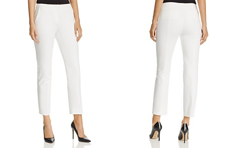 Emporio Armani Cropped Straight-Leg Pants - Bloomingdale's_2