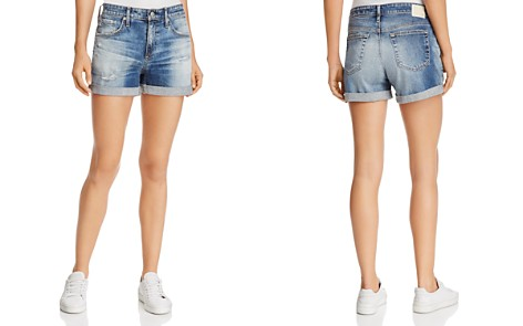 AG Hailey Ex-Boyfriend Roll-Up Denim Shorts in 15 Years Undercool - Bloomingdale's_2