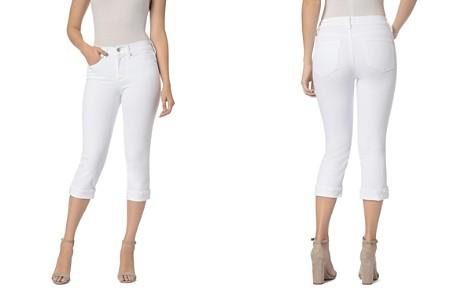 NYDJ Marilyn Cuffed Crop Jeans in Optic White - Bloomingdale's_2