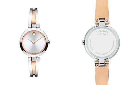 Movado Aleena Diamond Two-Tone Watch, 27mm - Bloomingdale's_2