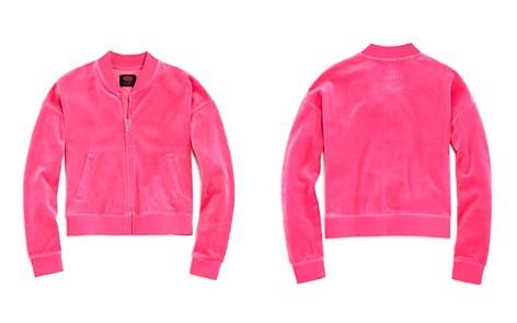 Juicy Couture Black Label Girls' Velour Jacket - Big Kid - Bloomingdale's_2