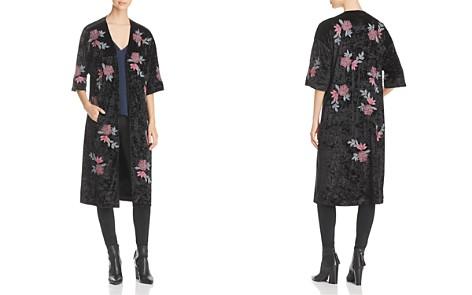 Billy T Embroidered Velvet Kimono Jacket - Bloomingdale's_2