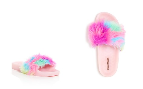 Steve Madden Girls' Softlite Faux-Fur Pool Slides - Little Kid, Big Kid - Bloomingdale's_2