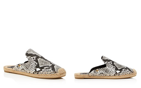 Tory Burch Women's Max Embossed Leather Espadrille Mules - Bloomingdale's_2