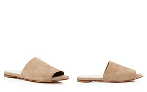 Charles David Women's Suede Slide Sandals - Bloomingdale's_2