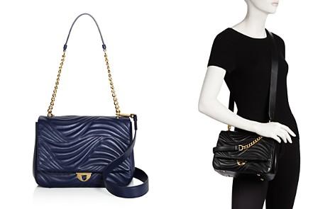 Salvatore Ferragamo Lexi Waves Leather Shoulder Bag - Bloomingdale's_2