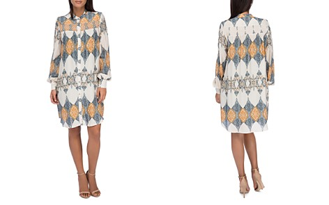 B Collection by Bobeau Chels Scarf Print Shirt Dress - Bloomingdale's_2