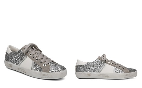 Sam Edelman Women's Baylee Suede & Glitter Low Top Lace Up Sneakers - Bloomingdale's_2