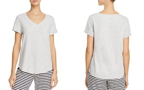 Jane & Bleecker New York Short Sleeve V-Neck Tee - Bloomingdale's_2