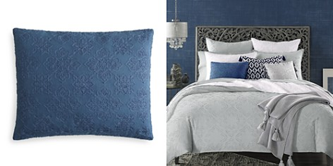 """Sky Ines Piece Dyed Foulard Decorative Pillow, 16"""" x 20"""" - 100% Exclusive - Bloomingdale's_2"""