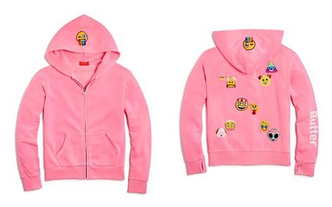 Butter Girls' Emoji Patches Hoodie - Little Kid - Bloomingdale's_2