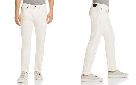 John Varvatos Star USA Bowery Slim Fit Jeans in White - 100% Exclusive - Bloomingdale's_2