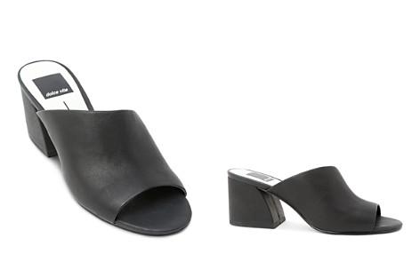 Dolce Vita Women's Juels Leather Block Heel Slide Sandals - Bloomingdale's_2