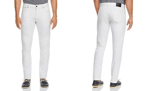 Belstaff Melford Tapered Fit Jeans in White - Bloomingdale's_2