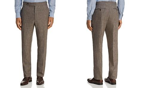Eidos Linen Regular Fit Suit Pants - Bloomingdale's_2