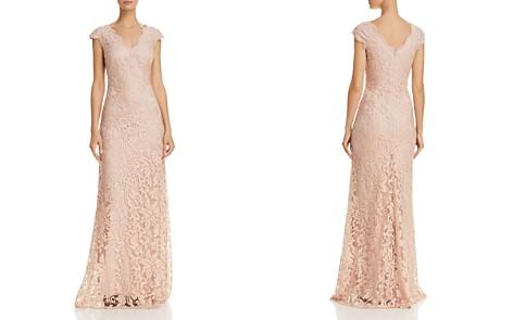 Tadashi Shoji Illusion Lace Gown- 100% EXCLUSIVE - Bloomingdale's_2