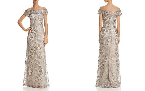 Tadashi Shoji Embellished Illusion Gown - Bloomingdale's_2