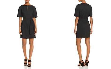 Theory Belted Shift Dress - Bloomingdale's_2