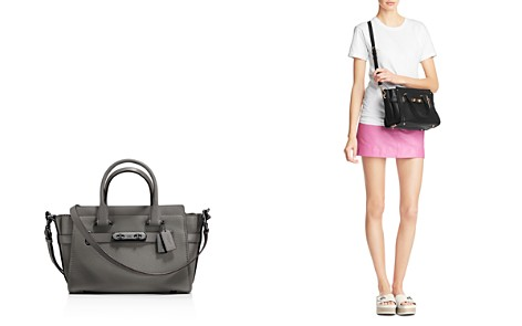 COACH Swagger 27 Small Satchel in Pebble Leather - Bloomingdale's_2