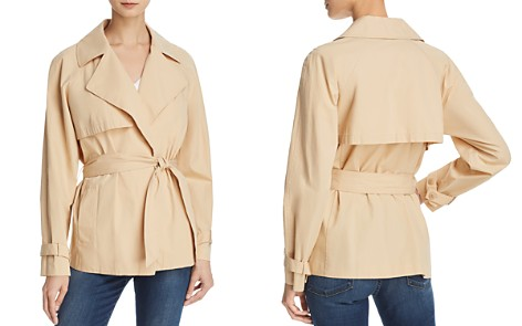 FRAME Cropped Trench Coat - Bloomingdale's_2