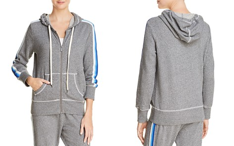 Splendid Striped-Trim Hoodie - 100% Exclusive - Bloomingdale's_2