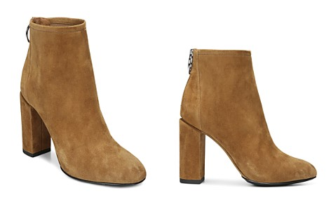 Via Spiga Women's Nadia Suede High Block Heel Booties - Bloomingdale's_2