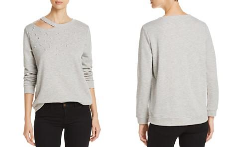 Alison Andrews Embellished Cutout Sweatshirt - Bloomingdale's_2