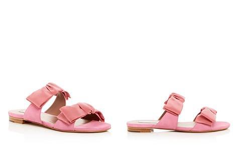 Tabitha Simmons Women's Summer Suede Slide Sandals - Bloomingdale's_2