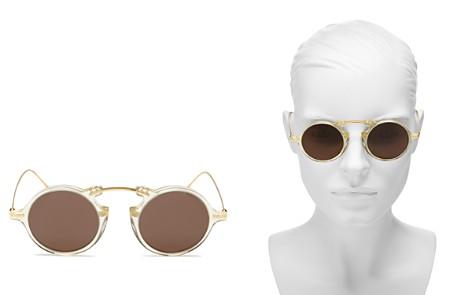 Illesteva Roma II Round Sunglasses, 46mm - Bloomingdale's_2