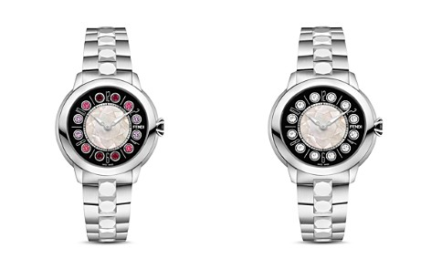 Fendi IShine Rotating Gemstones Watch, 38mm - Bloomingdale's_2