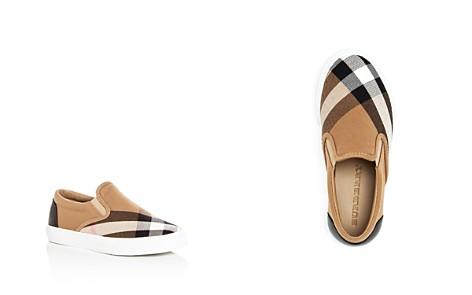 Burberry Girls' Linus House Check Slip-On Sneakers - Toddler, Little Kid, Big Kid - Bloomingdale's_2