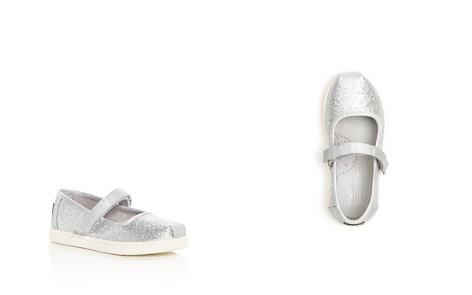 TOMS Girls' Glimmer Glitter Mary Jane Flats - Baby, Walker, Toddler - Bloomingdale's_2
