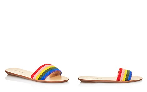 Loeffler Randall Women's Stella Alpaca Rainbow Slide Sandals - Bloomingdale's_2
