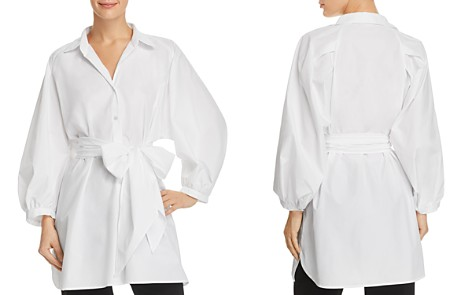 Weekend Max Mara Disco Self-Tie Button-Down Tunic - 100% Exclusive - Bloomingdale's_2