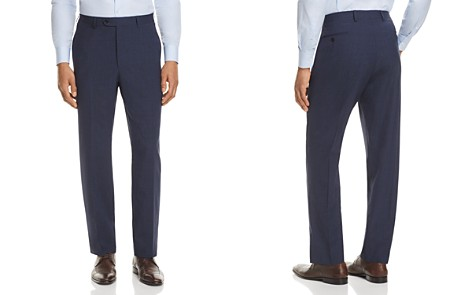 John Varvatos Star USA LUXE Micro Check Slim Fit Suit Pants - 100% Exclusive - Bloomingdale's_2
