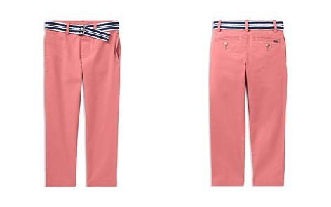 Polo Ralph Lauren Boys' Belted Stretch Skinny Chinos - Little Kid - Bloomingdale's_2