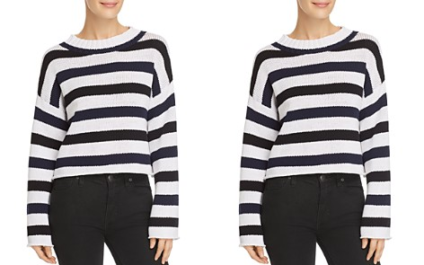 Kenneth Cole Embroidered Striped Sweater - Bloomingdale's_2