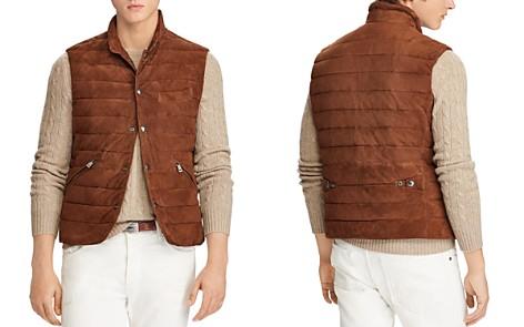 Polo Ralph Lauren Walbrook Leather Vest - Bloomingdale's_2