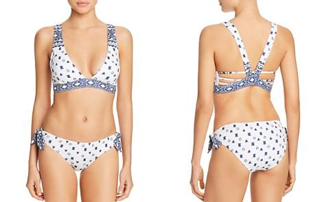 Splendid Boarder Stripe Bikini Top & Boarder Stripe Side Tie Bikini Bottom - Bloomingdale's_2