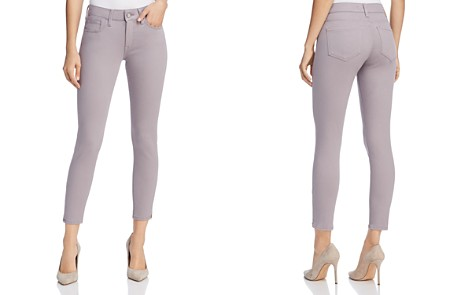 Mavi Alexa Ankle Mid Rise Skinny Jeans in Lilac Twill - Bloomingdale's_2