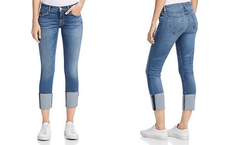 Hudson Tally Crop Deep Cuff Jeans in Impala - Bloomingdale's_2