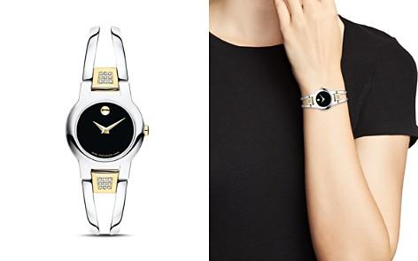 Movado Amorosa Diamond Two-Tone Watch, 24mm - Bloomingdale's_2