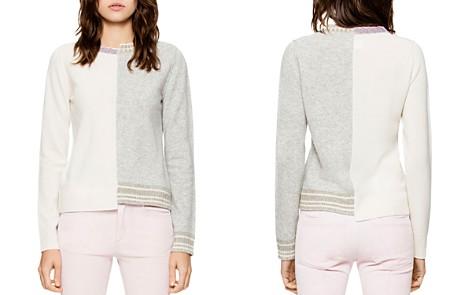 Zadig & Voltaire Source Spliced Sweater - Bloomingdale's_2