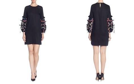CATHERINE Catherine Malandrino Dahl Embellished-Sleeve Dress - Bloomingdale's_2