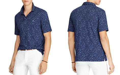 Polo Ralph Lauren Floral Classic Fit Soft-Touch Short Sleeve Polo Shirt - Bloomingdale's_2