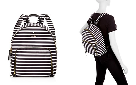 kate spade new york Watson Lane Hartley Striped Nylon Backpack - Bloomingdale's_2